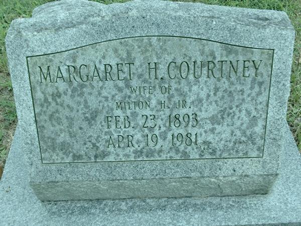 Margaret <i>Hopkins</i> Courtney