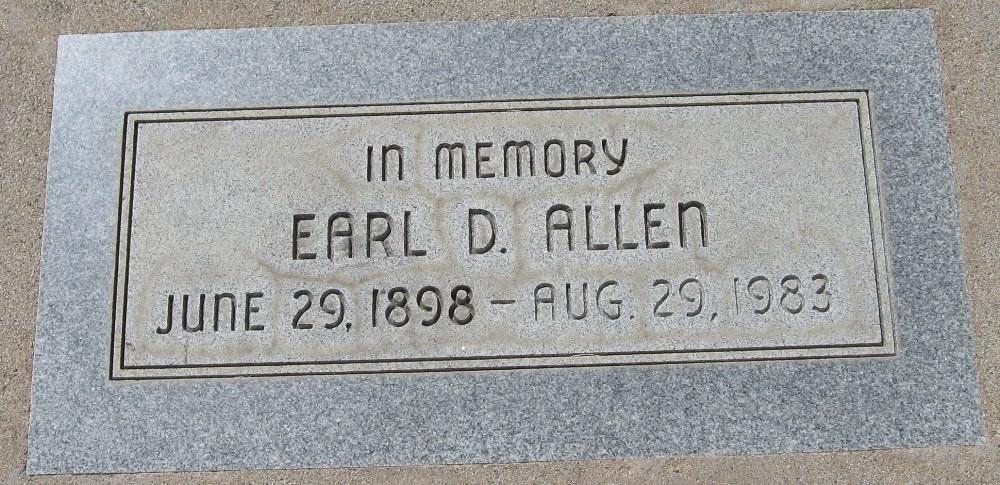 Earl Drane Allen