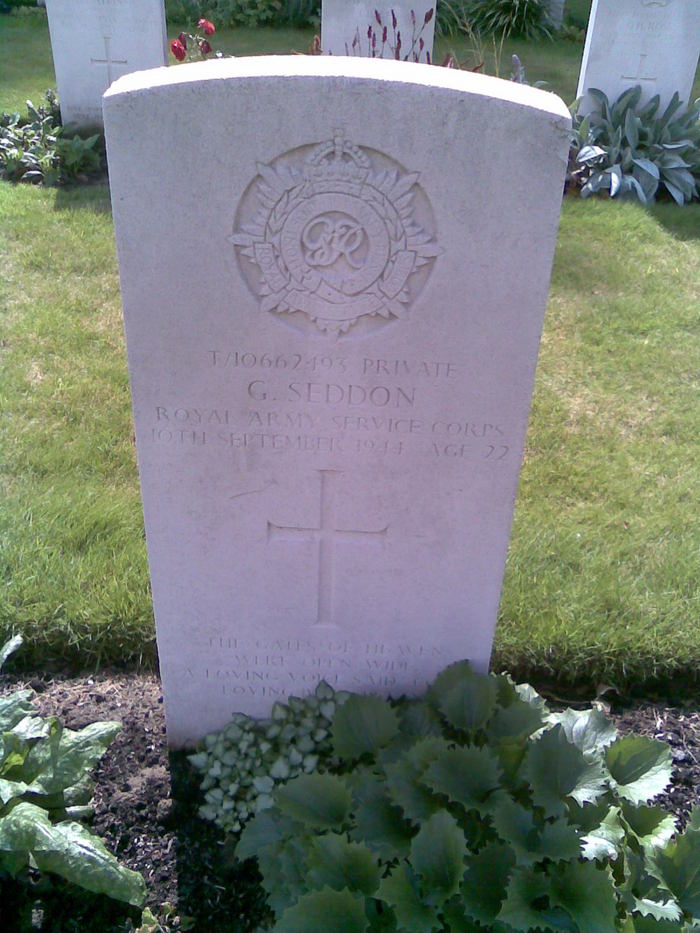 Private Geoffrey Seddon