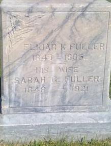 Sarah Elizabeth <i>Glover</i> Fuller