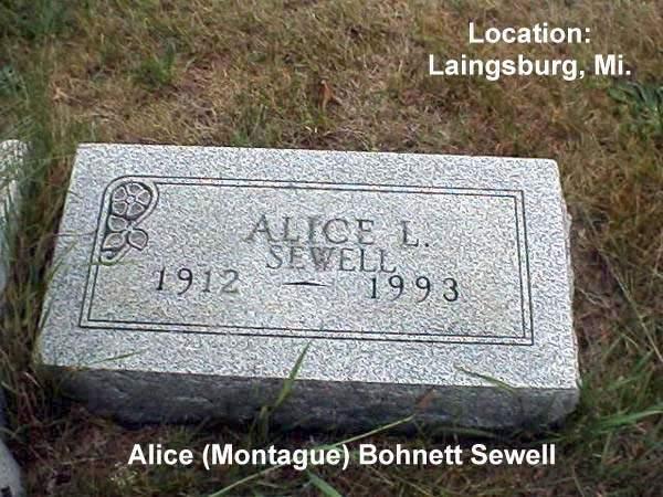 Alice Lorene <i>Montague</i> Bohnett