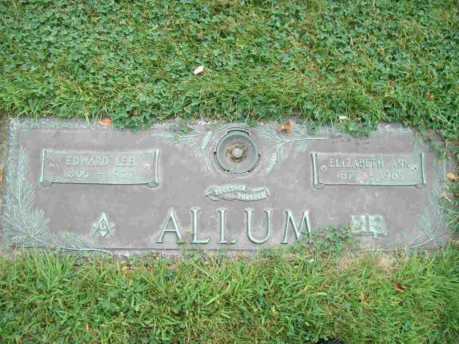 Elizabeth Ann Lizzie <i>Blue</i> Allum