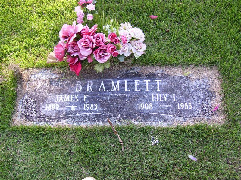 Lily I. <i>Jones</i> Bramlett