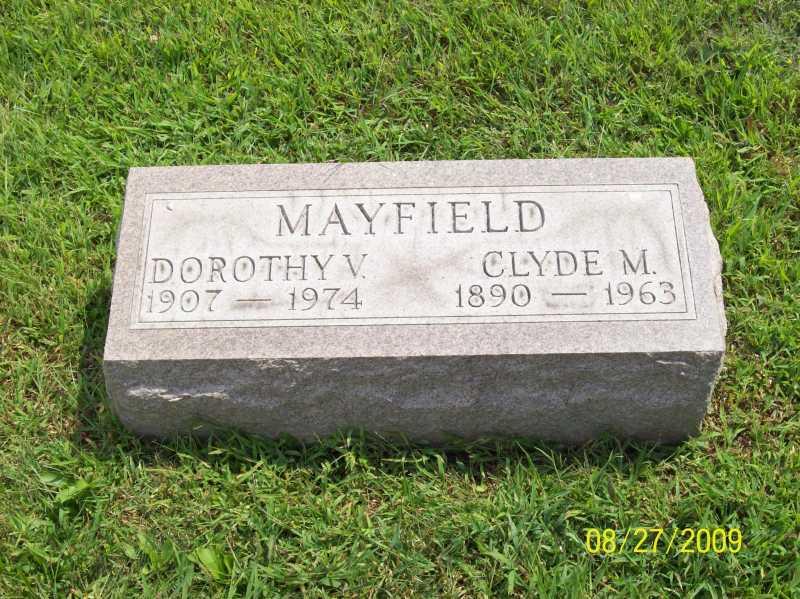 Dorothy V Mayfield