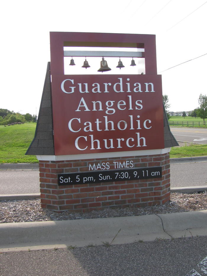 Guardian Angels Catholic Church Cemetery in Oakdale