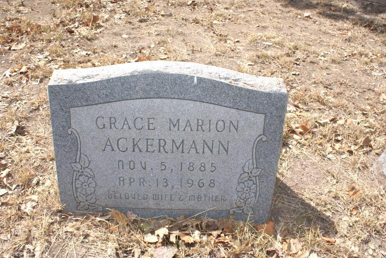 Grace Marion <i>Murray</i> Ackermann