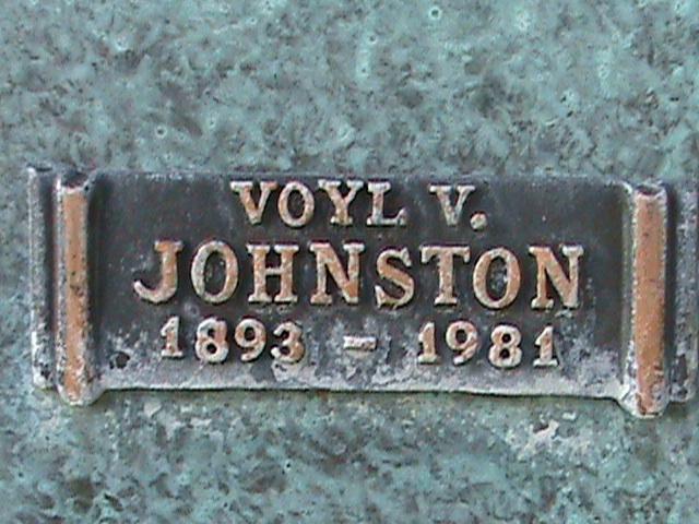Voyl V. Johnston