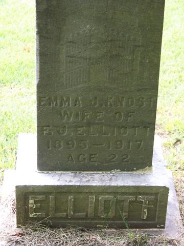 Emma J <i>Knost</i> Elliott
