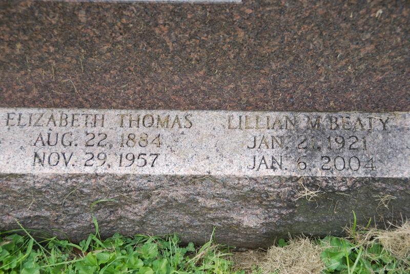 Elizabeth <i>Thomas</i> Beaty
