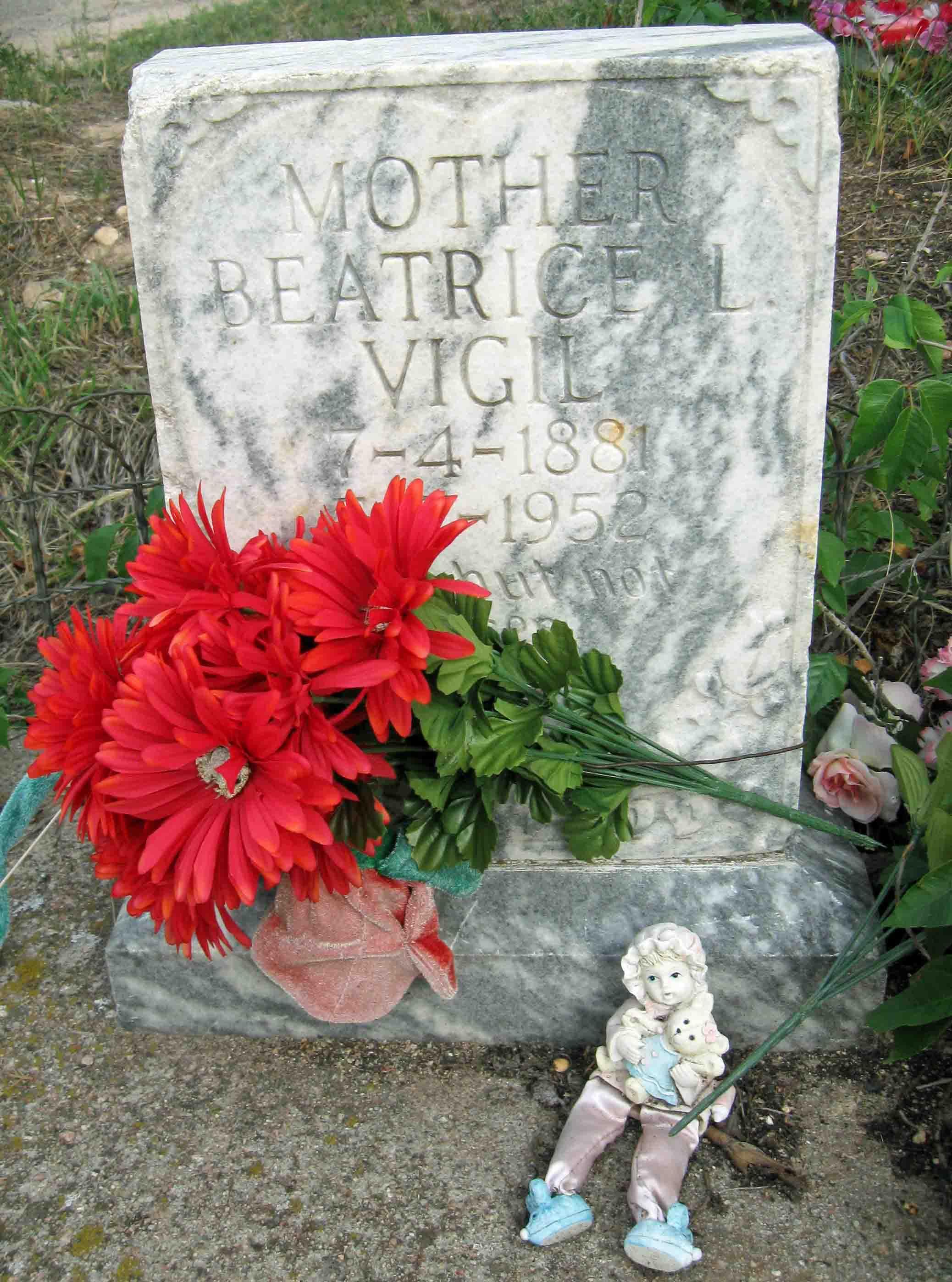 Beatrice <i>Lopez</i> Vigil