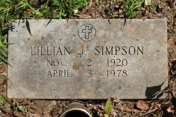 Lillian J Simpson