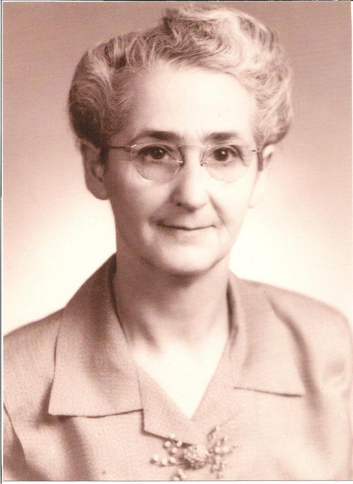 Cora Ethel <i>Benfield</i> Adams