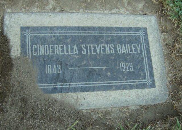 Cinderella <i>Stevens</i> Bailey