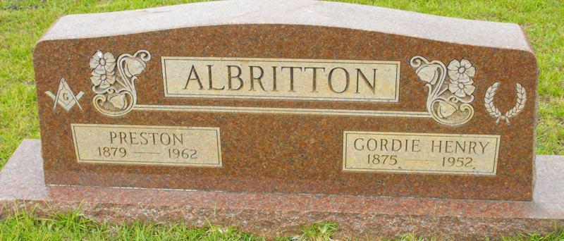 Mary Gordie <i>Henry</i> Albritton