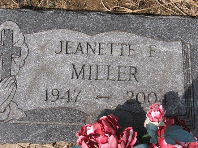 Jeanette Elaine Miller
