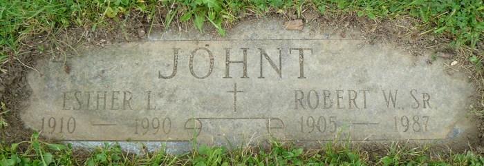 Robert William Johnt, Sr