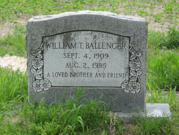 William T Ballenger