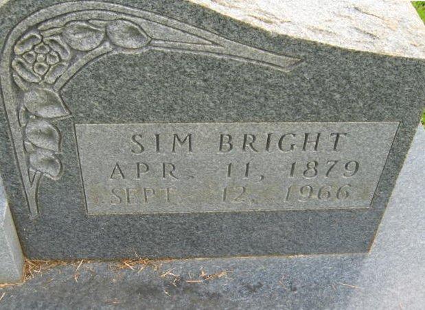 Simeon Sim Bright, III