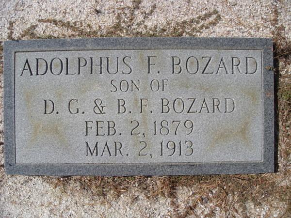 Adolphus Francis Bozard