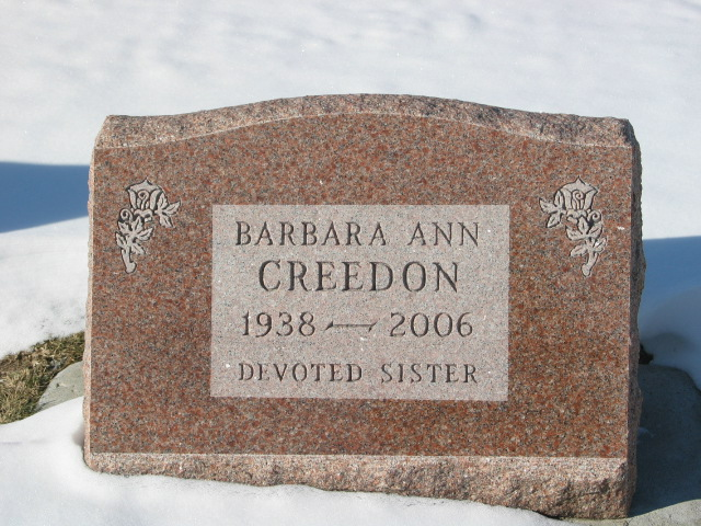 Barbara Ann Creedon