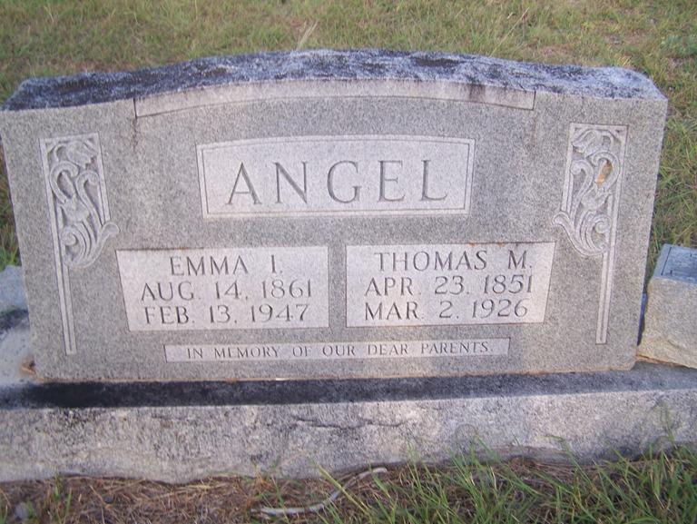 Emma Isabell <i>Eads</i> Angel