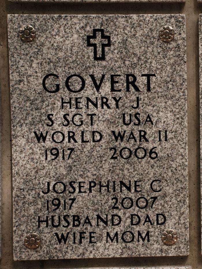 Josephine Catherine <i>Tolotti</i> Govert