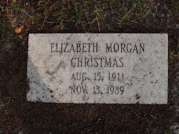 Elizabeth <i>Morgan</i> Christmas