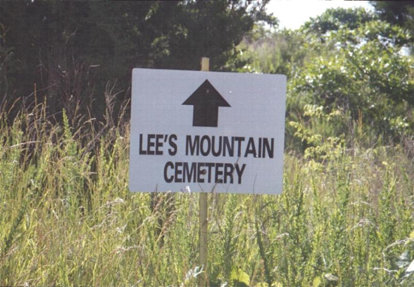 Lees Mountain Cemetery