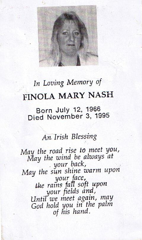 Finola Mary Nash