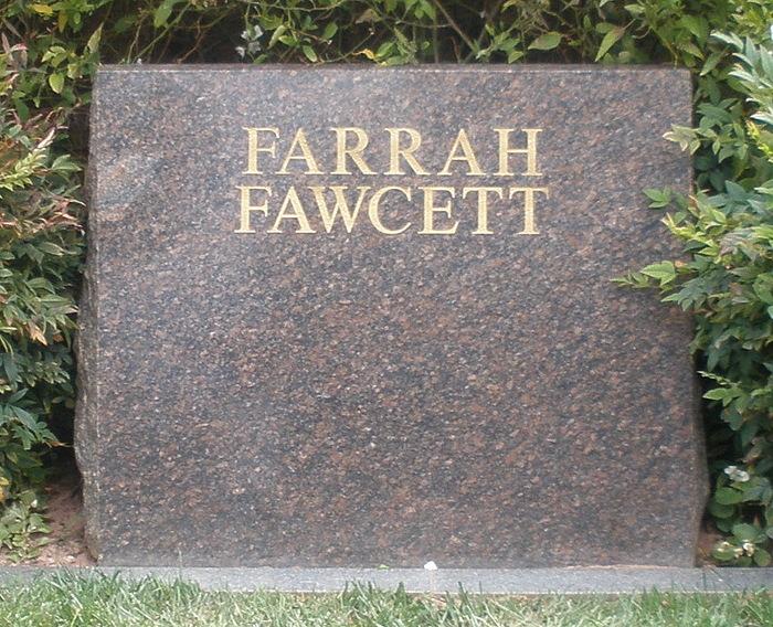 farrah fawcett 1947 2009 find a grave memorial