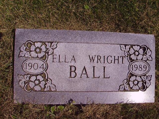 Ella Wright <i>Johnson</i> Ball