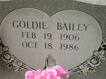 Goldie Bailey
