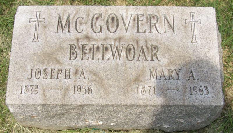 Mary A <i>McGovern</i> Bellwoar