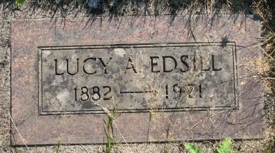 Lucy A <i>Morgan</i> Edsill
