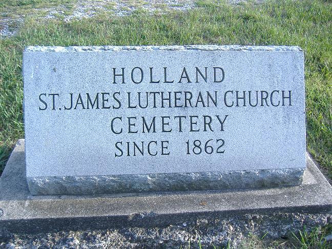 Saint James Lutheran East Cemetery