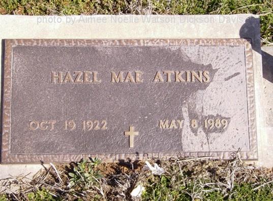 Hazel Mae <i>Goodwin</i> Atkins