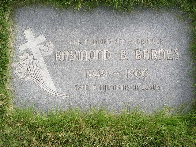 Raymond B Barnes