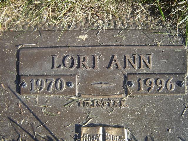 Lori Ann <i>Tilistyak</i> Oji