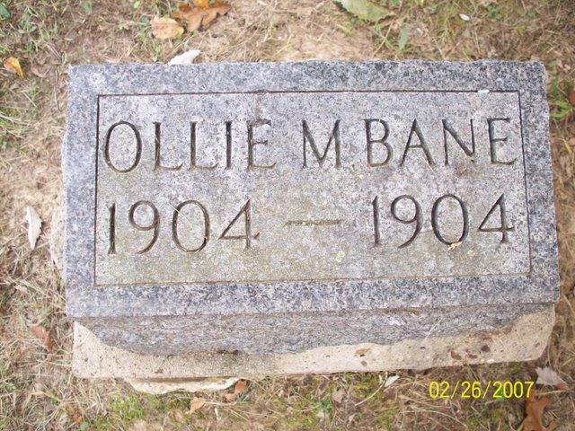 Ollie M Bane