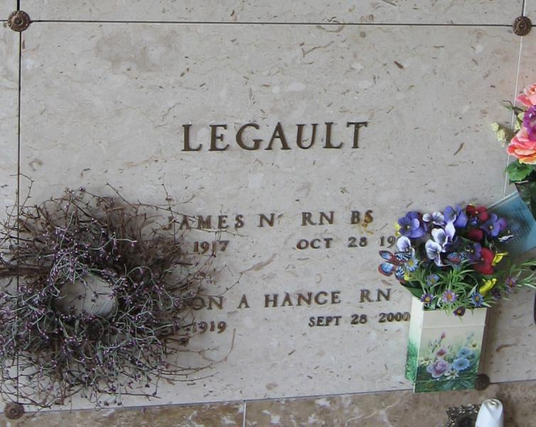 Marion A <i>Hance</i> Legault