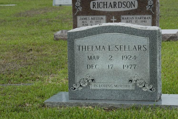 Thelma Lucille <i>Tucker</i> Sellars