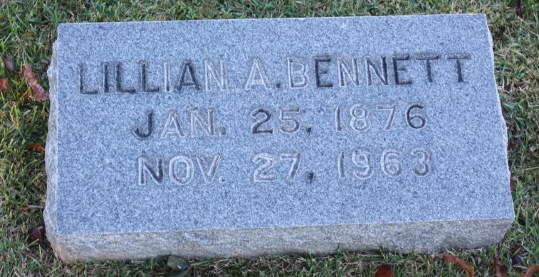 Lillian A Bennett