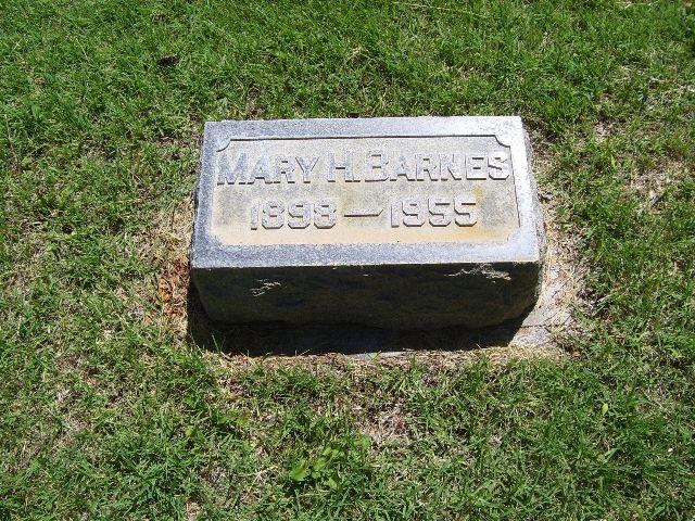 Mary Emily <i>Harsin</i> Barnes