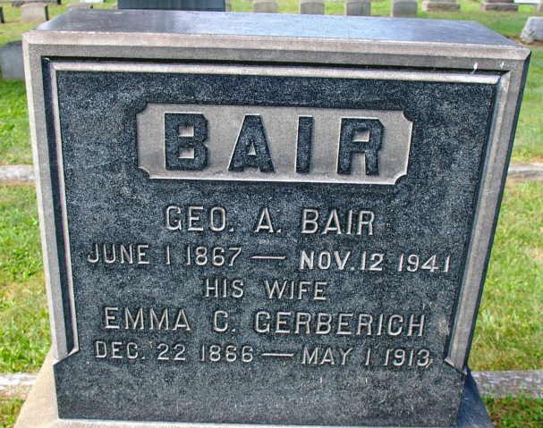 George A Bair