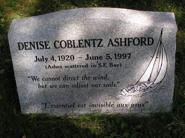 Denise Henriette <i>Coblentz</i> Ashford