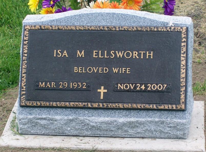 Isa May <i>Fickes</i> Ellsworth
