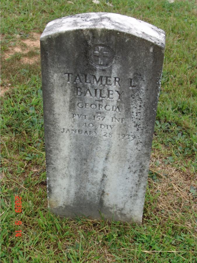 Talmer L Bailey