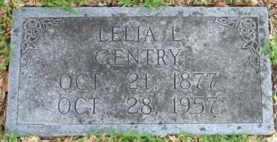 Lelia Lauretta <i>Thomas</i> Gentry