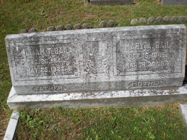Mary Ann <i>Myers</i> Bail