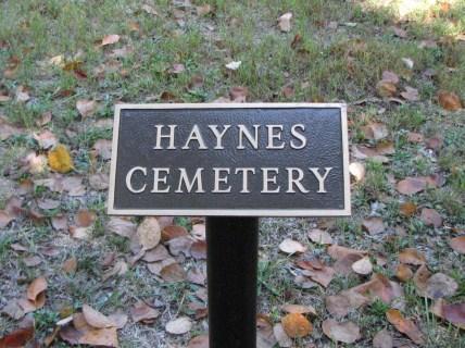 Haynes Cemetery
